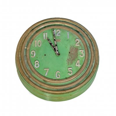 French vintage wall clock by Electric Marti