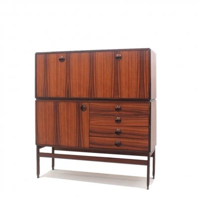 Mid century rosewood modular cabinet by Besana Mobili, 1960s