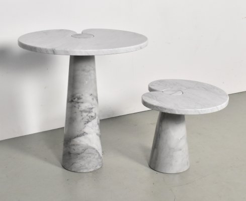 Marble 'Eros' Side Tables by Angelo Mangiarotti for Skipper, 1970s