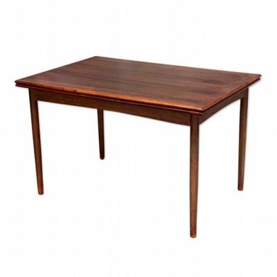 Danish MidCentury Extending Dining Table in Palisander by Gunni Omann, 1960s