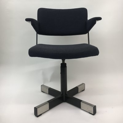 Vintage Model 1645 desk chair by André Cordemeyer for Gispen, 1960s