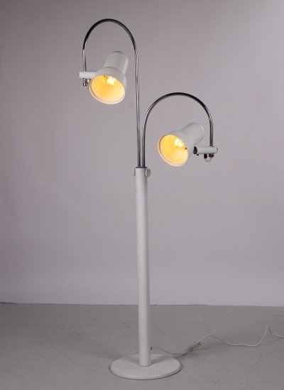 Space Age Floor lamp with 2 rotatable spots, 1960s
