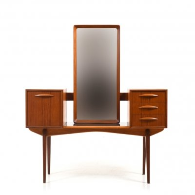 1950s Scandinavian Teak Vanity Table by Svante Skogh