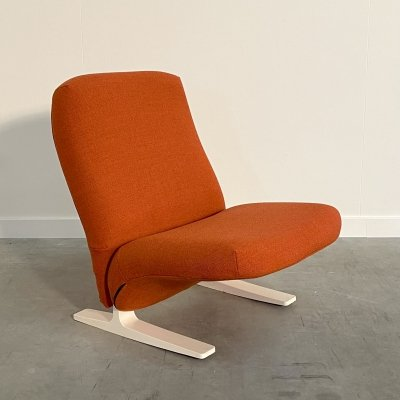 F780 Concorde Lounge chair by Pierre Paulin for Artifort, 1970s