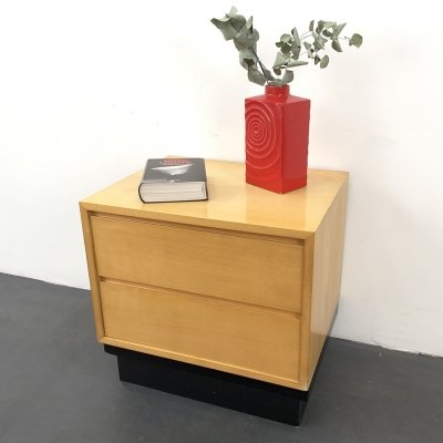 'Mira' Drawer Cabinet / Nightstand in Maple by Werner Buchser for WK Möbel