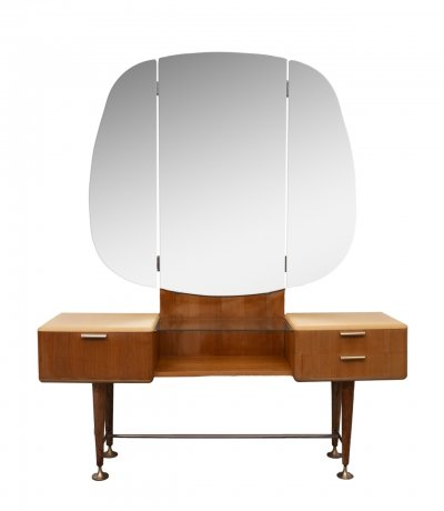 Rare Mid-Century Modern vanity / dressing table by A. Patijn for Zijlstra Joure
