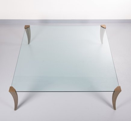 Large coffee table by Peter Ghyczy, 1970s