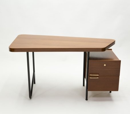 Rare French desk by Georges Frydman, 1950s