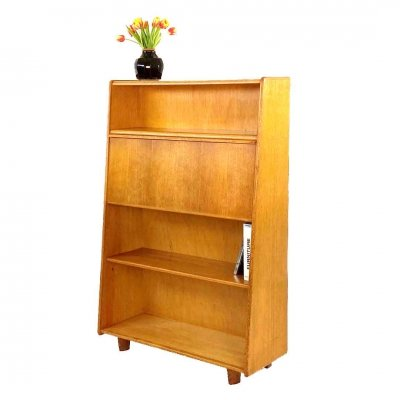 Pastoe BE04 Oak series secretary by Cees Braakman, 1950s