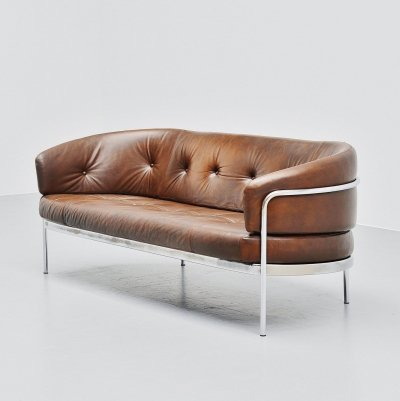 Hans Ell BZ19 lounge sofa by 't Spectrum Holland, 1970