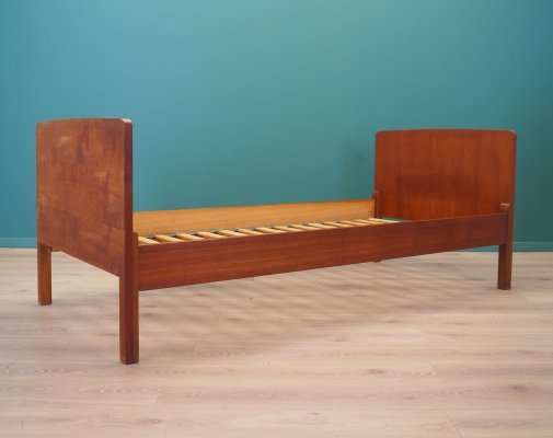 Teak bed by Omann Jun Møbelfabrik, 1970s