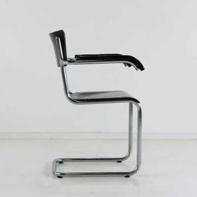 S43F dining chair by Mart Stam for Thonet, 1960s
