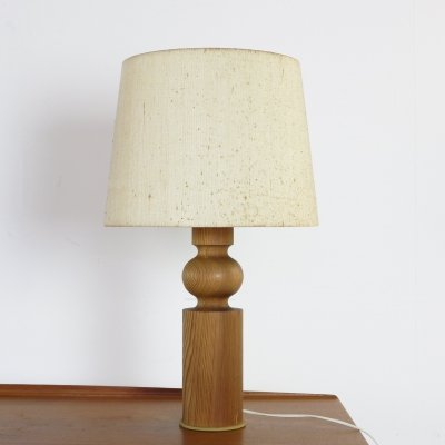 Pinus table lamp by Uno & Östen Kristiansson for Luxus Sweden, 1960s