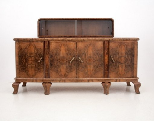 Art Deco sideboard, Poland 1930s
