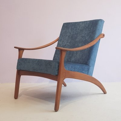 Lounge Chair by Arne Hovmand Olsen for P. Mikkelsen