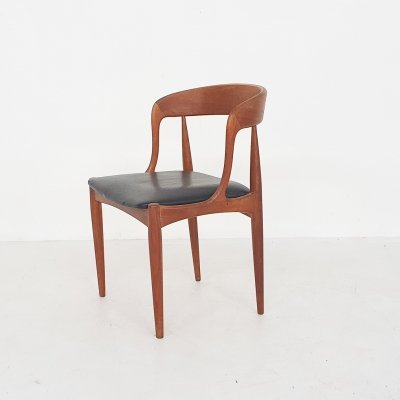 Johannes Andersen for Uldum Mobelfabrik model 16 teak dining chair, 1950's