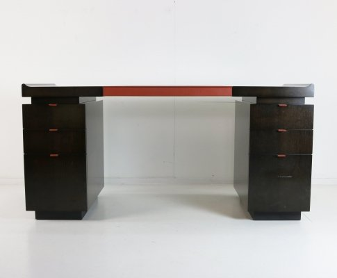 Princeton writing desk by Hugues Chevalier for Hugues Chevalier Paris, 1980s
