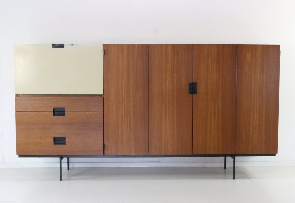 CU 08 highboard in teak by Cees Braakman for UMS Pastoe, 1958