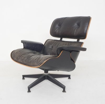 Charles & Ray Eames Lounge Chair 3rd Gen. Model 670 for Herman Miller, 1971