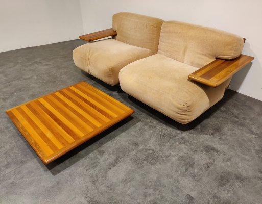Pianura sofa set by Mario Bellini for Cassina
