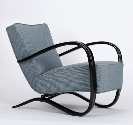 Streamline Chair H 269 by Jindrich Halabala for Spojene UP Zavody, 1930s