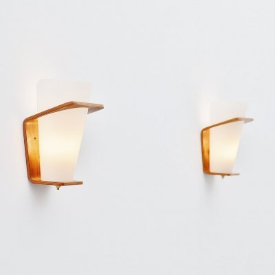 Louis Kalff NX41 sconces by Philips Holland, 1954