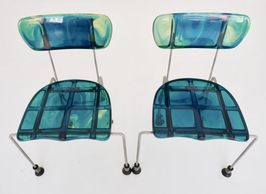 Broadway Chair by Gaetano Pesce for Bernini, 1990s