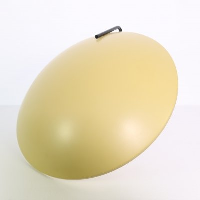 Rare yellow colored ceiling/wall lamp by Bruno Gatta, 1960s