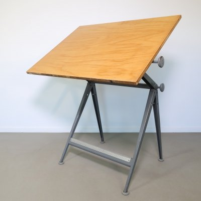 Reply drafting table by Wim Rietveld & Friso Kramer for Ahrend de Cirkel, 1960s