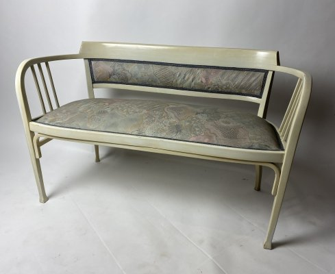 Iconic secession sofa no.6513 by Gustav Siegel for Thonet, 1920s