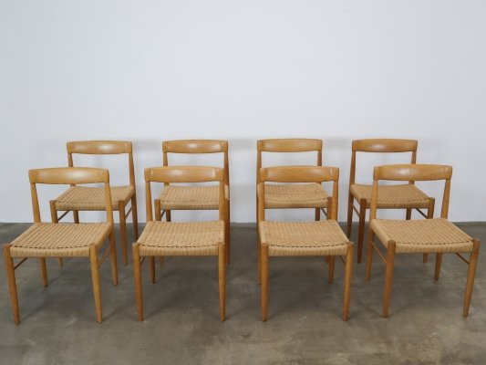 Henry W. Klein for Bramin set of 8 dining chairs