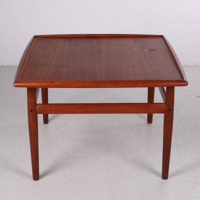 Square Coffee table in teak by Grete Jalk for Glostrup Møbelfabrik, 1960s