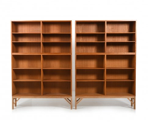 Pair of Model no.152 Book Cases by Børge Mogensen for FDB Møbler