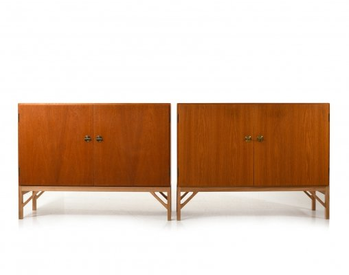 Pair of Model no.232 Cabinets by Børge Mogensen for FDB Møbler