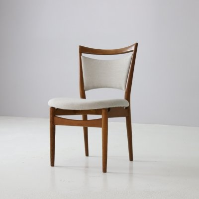 Rare Finn Juhl 'SW86' dining chair for Søren Willadsen, 1952
