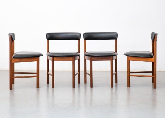 Set of 4 'Model 4103' dining chairs by Mcintosh, 1960s