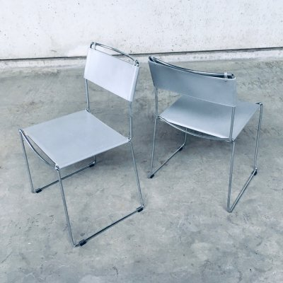 Pair of Dining Chairs by Giandomenico Belotti for Alias, Italy 1980's