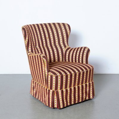 Theo Ruth for Artifort lady's armchair with skirt