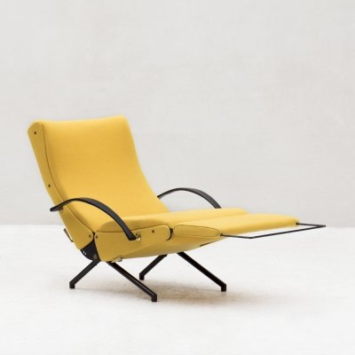 'P40' Lounge Chair by Osvaldo Borsani for Tecno, Italy 1955