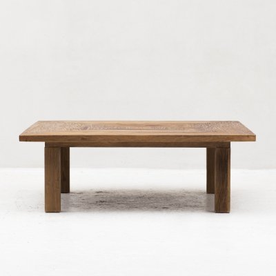 XXL Coffee table in solid oak