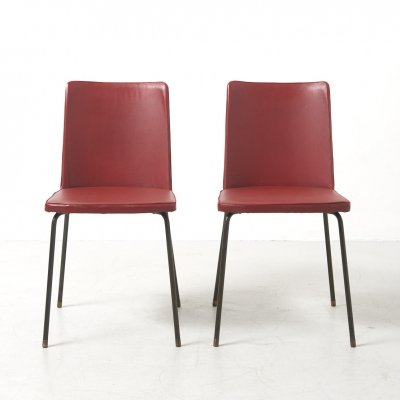 Pair of Dining Chairs by Hein Salomonson for AP Originals, Netherlands 1950's