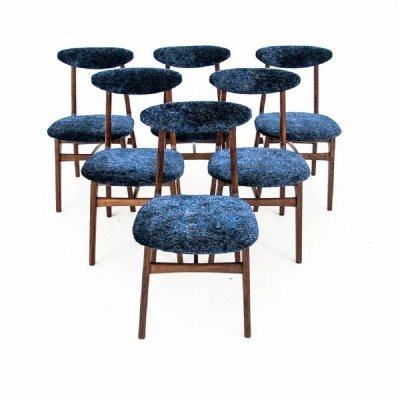 Set of 6 chairs by R.T. Hałas, Poland 1960s