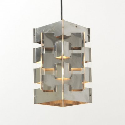 Pendant Lamp by J.J.M. Hoogervorst for Anvia, Netherlands 1950's