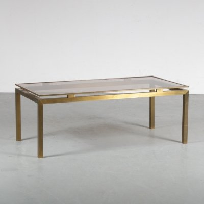 1970s Coffee table by Guy Lefevre for Maison Jansen, France