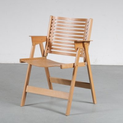 'Rex' Folding chair by Niko Kralj, Slovenia 1950s