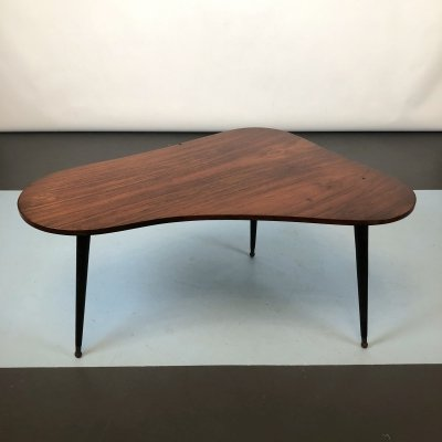 Midcentury Italian Rosewood Side or Coffee Table, 50s