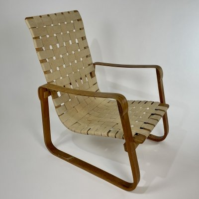 Very rare Armchair by Walter Frey for Gebrüder Heinzer, 1930s