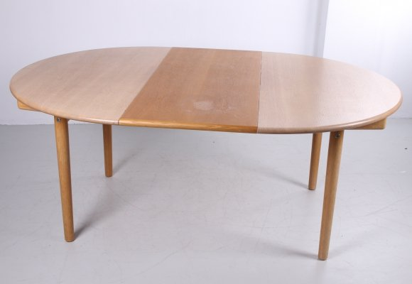 Hans J Wegner PP 70 dining room table, 1960s