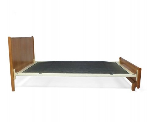 Oak series Bed by Cees Braakman for Pastoe, 1950s
