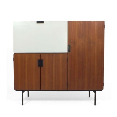 CU01 Japanese series highboard by Cees Braakman for Pastoe, 1950s